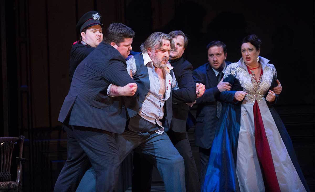 Orla Boylan – Tosca, with New Zealand Opera